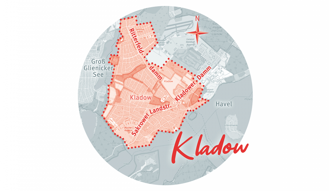 Kladow Karte Berlin